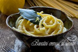 bucatini cremosi al limone - Garofalo